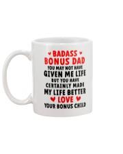 Badass Bonus Dad Mug back