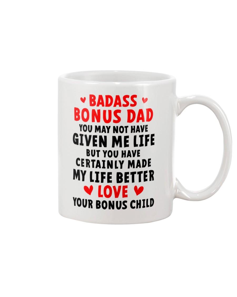 Badass Bonus Dad Mug