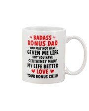 Badass Bonus Dad Mug front