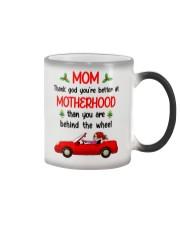 You're Better At Motherhood Color Changing Mug thumbnail