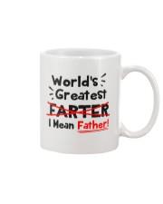 I Mean Father Mug front