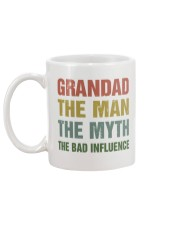 Grandad - The bad influence Mug back