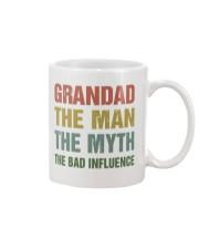 Grandad - The bad influence Mug front