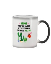 Keeping Things Alive Color Changing Mug tile