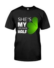 She Is My Drunker Half Classic T-Shirt tile
