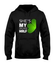 She Is My Drunker Half Hooded Sweatshirt thumbnail