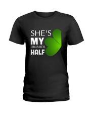 She Is My Drunker Half Ladies T-Shirt thumbnail