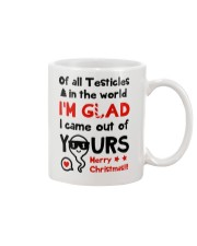 Of All Testicles In The World Mug front