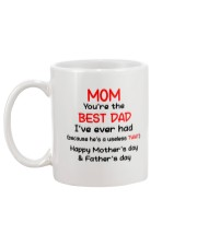 You're The Best Dad Mug back