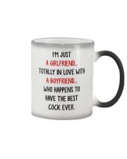 Girlfriend Best Cock Ever Color Changing Mug thumbnail