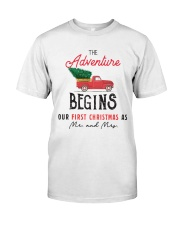 Adventure begins first Christmas Classic T-Shirt front