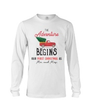 Adventure begins first Christmas Long Sleeve Tee thumbnail