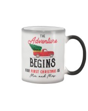 Adventure begins first Christmas Color Changing Mug thumbnail