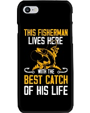 This Fisherman Lives here Phone Case thumbnail