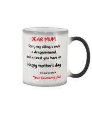 Mum At Least You Have Me Color Changing Mug thumbnail