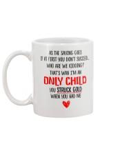 Only Child Mug back