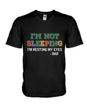 I'm Resting My Eyes V-Neck T-Shirt thumbnail