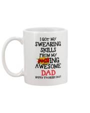 Swearing Skills From Dad Mug back