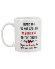 Thank For Not Selling My Boyfriend Mug back