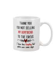 Thank For Not Selling My Boyfriend Mug front
