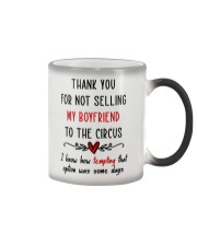 Thank For Not Selling My Boyfriend Color Changing Mug thumbnail