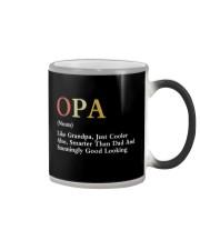 Opa Retro Good Looking Color Changing Mug thumbnail