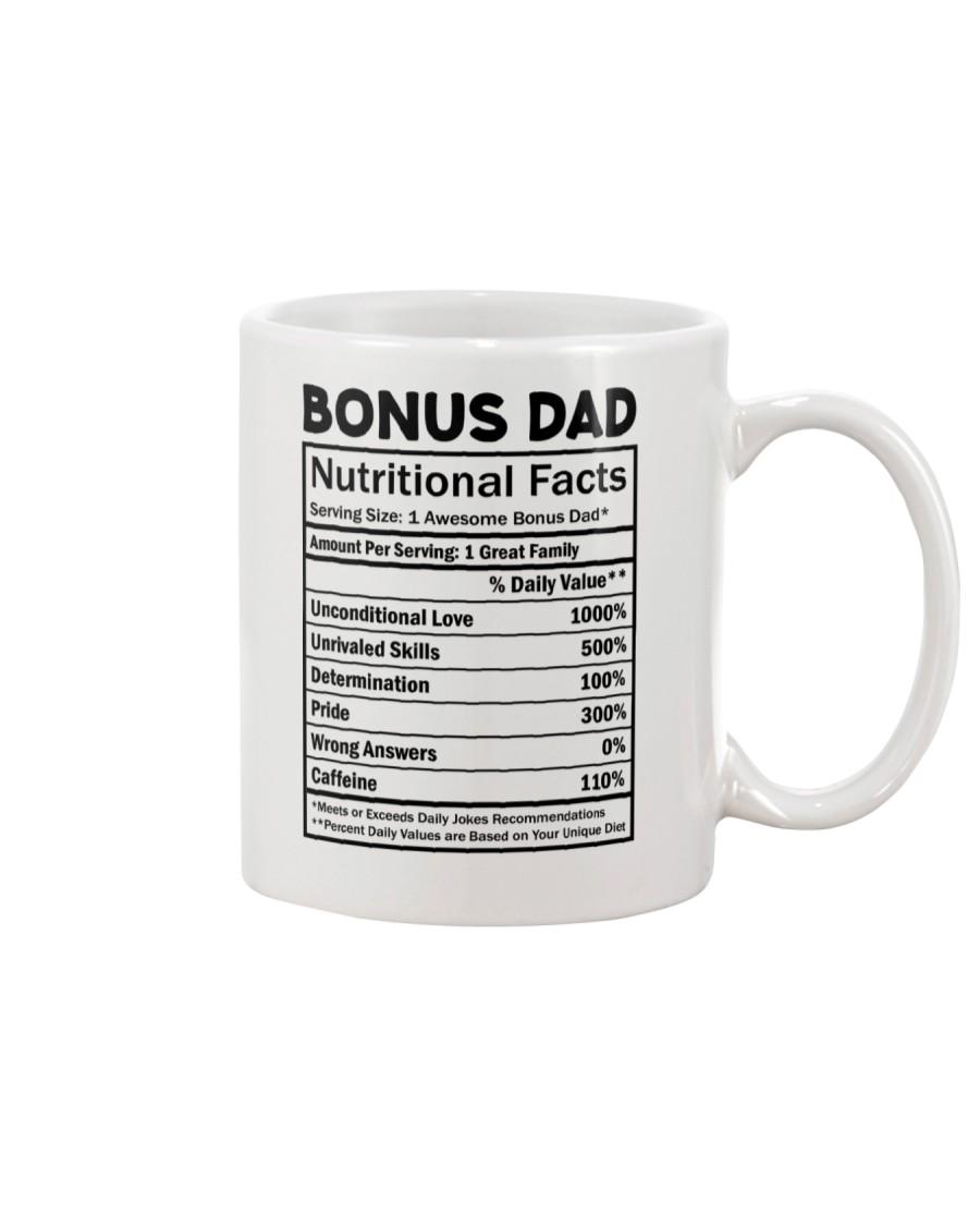 Bonus dad Nutritional Facts Mug