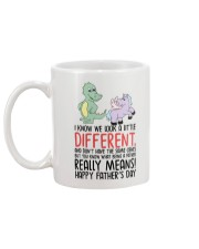 Look Different Father Really Means Mug back