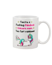 Fabulous Unicorn Mom Mug tile