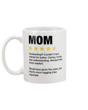 Mom Five Stars Us Mug back