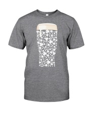 Beer Glass Shamrocks Fill Classic T-Shirt thumbnail