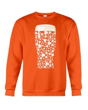 Beer Glass Shamrocks Fill Crewneck Sweatshirt thumbnail