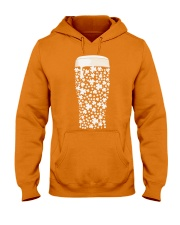 Beer Glass Shamrocks Fill Hooded Sweatshirt thumbnail