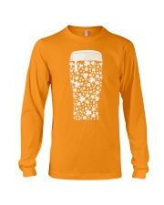 Beer Glass Shamrocks Fill Long Sleeve Tee thumbnail