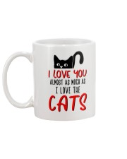 Almost Much As Cat Mug back