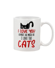 Almost Much As Cat Mug front