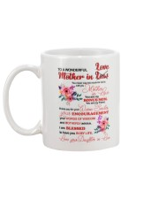 Mother In Love  Mug back