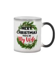 Next Christmas You'll Be My Wife Color Changing Mug thumbnail