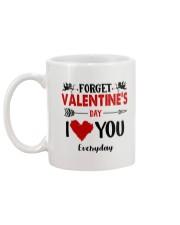 Forget Valentine  Mug back