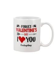 Forget Valentine  Mug front