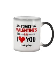 Forget Valentine  Color Changing Mug thumbnail