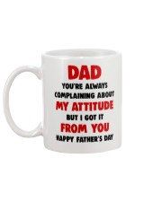 Got Attitude From Dad Mug back