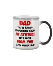 Got Attitude From Dad Color Changing Mug thumbnail