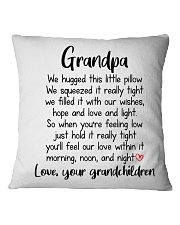 Hug This Little Pillow Square Pillowcase front