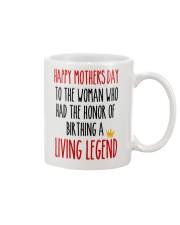 Birthday A Living Legend Mug front