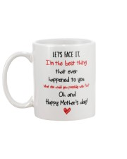 Best Thing Happened To Mom Mug back