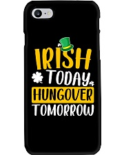Irish Today Hungover Tomorrow Phone Case tile