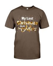 MY LAST CHRISTMAS AS A MISS Classic T-Shirt thumbnail