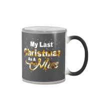 MY LAST CHRISTMAS AS A MISS Color Changing Mug thumbnail