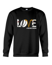 Love Hockeymom Crewneck Sweatshirt thumbnail